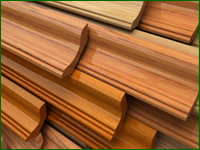 wood trim products